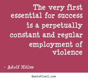 How successful were hitler and the