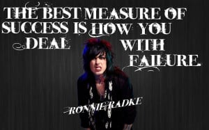 Ronnie Radke Quote by MotionlessRainbows on DeviantArt