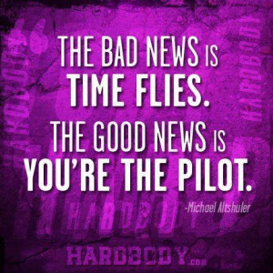 These are the the bad news time flies good quote wallpaper Pictures