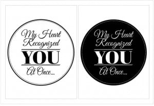 Free Printable Black and White Quotes