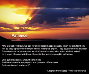 Patience inspirational quotes