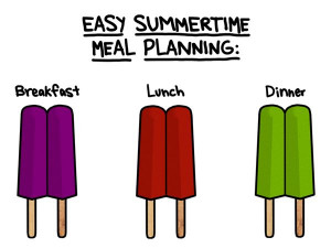 Easy Summertime Meal Planning