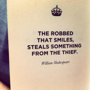 Thief stealing funny sayings quotes and william shakespeare