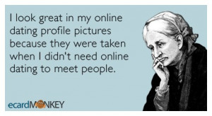 Funny comments about online dating