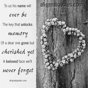 ... loving memory picture poem cards in memoriam verses remembrance cards