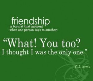 Friendship quotes – Common habits and friends