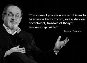 Salman Rushdie quote...