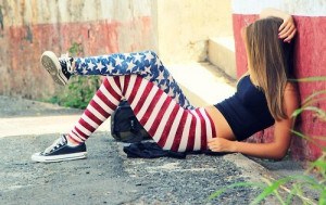 swaggerz girl cool picture america swag