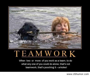 cooperation when two or a greater amount of you function as a group to ...