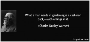 More Charles Dudley Warner Quotes