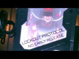 Vin Diesel as Richard B. Riddick in Pitch Black (2000)