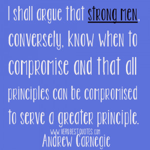 Strong men Quotes, Andrew Carnegie Quotes