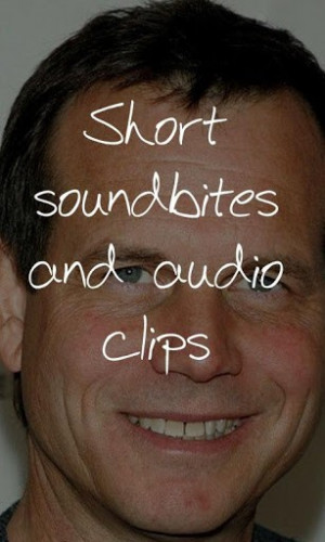 Bill Paxton Soundboard For