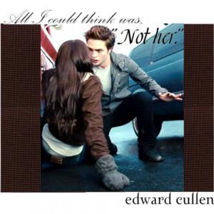 Edward Cullen Quote - Midnight Sun - Polyvore