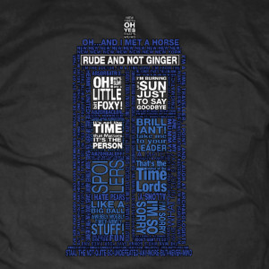 Doctor Who 10th Doctor Quotes Shirt