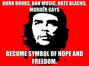 burn books ban music hate blacks murder gays become symbol of hope and ...