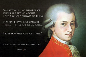 Mozart's letters: 10 wonderful, emotional and bizarre quotes