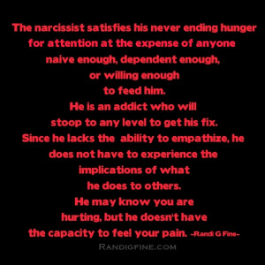 Narcissist Abuse Picture Quote
