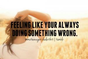 ... mistake imperfect wrong alone depressed teenagers teens teenage girl