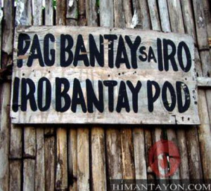 View Full Size | More hybridstar funny bisaya signs |