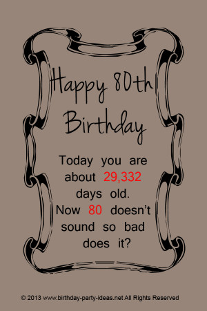 80th birthday card wynonas poem the poem is dedicated to my cute 80th ...