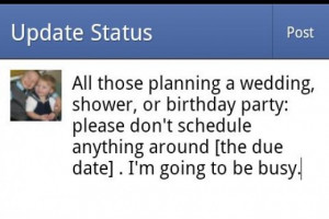 cute pregnancy announcement quotes
