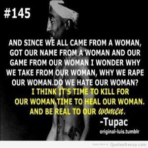 Makaveli quotes Tupac thug