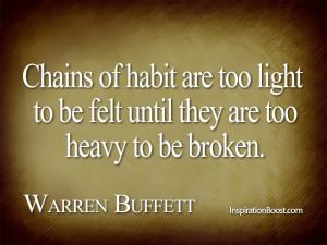 warren buffett quotes on success