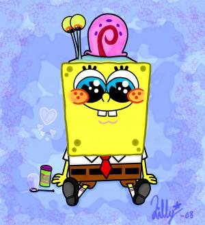 CUTEDXC spongebob and gary
