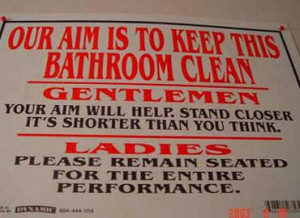 Wildly Hilarious Signs
