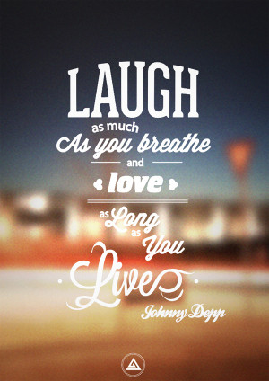 Free Verse 11 – Johnny Depp by Salve-S . Laugh as much as you ...