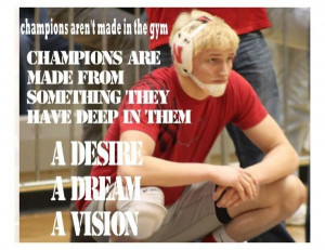 Wrestling quotes, sport, best, sayings, champions
