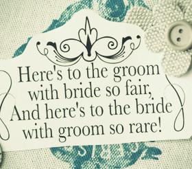 Wedding Speech Quotes & Sayings
