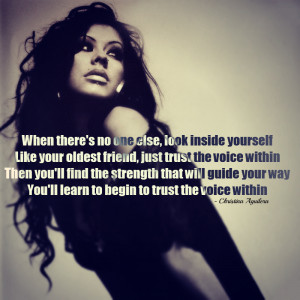 christina aguilera. quotes, song quotes, trust, girl, woman ...