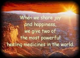 When We Share Joy and Happiness,We Give two of the Most Powerful ...