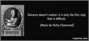 Distance Doesnt Matter Quotes