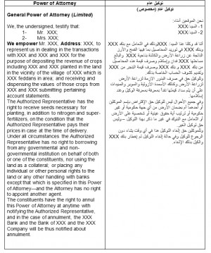 ... Legal Translation Samples Or go back to our Arabic English Translation