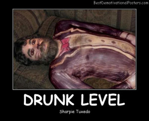Drunk Girl Demotivational
