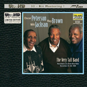 Oscar Peterson Ray Brown amp Milt Jackson The Very Tall Band Limited
