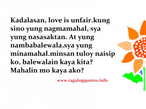 Bitter Quotes Tagalog