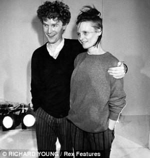 Malcolm McLaren with Vivienne Westwood in 1981