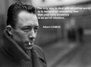 albert camus quotes deal the world