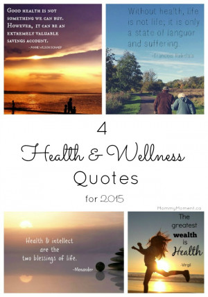 We hope that one (or all!) of these health and wellness quotes for ...