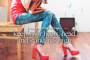 heels, just girly things, quotes, red, skinny