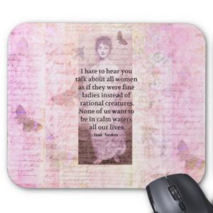 jane_austen_inspirational_quote_empowerment_women_mousepad ...