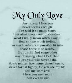 Love Poems for Him Her Your Boyfriend A Girlfriend Husband and Quotes ...