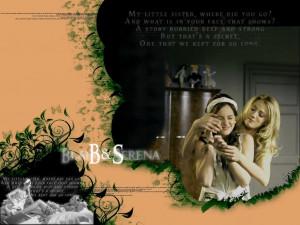 Serena and Blair Blair and Serena