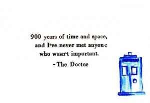 Some Awesome Doctor Who Quotes