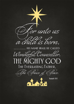 Unto Us A Child Is Born