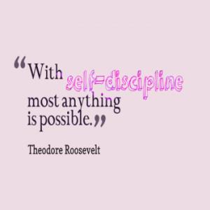 Self Discipline Quotes Self discipline